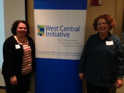 Heather Thormodson, RSVP Director, West Central MN Communities Action  and Mary Quirk, Executive Director, MAVA